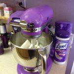 Simple Kitchen Area Light Purple Aid Stand Alone Mixer Comfortable