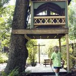Simple Modern Kids Tree House Designs