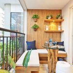 Small Balcony Apartment Charming Looks House Design