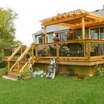 Small Deck Pergola Designs Home Design