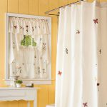 Small Window Curtains Furniture Ideas