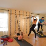 Smart Wall Training System Offers Compact Home Gym Solution Small Spaces