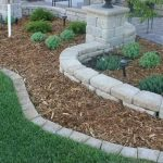 Stone Edging Complete Beautiful Landscape Yard Ortega Lawn