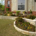 Stone Flower Bed Edging