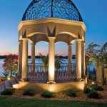 Stunning Outdoor Lights Gazebo Pergola