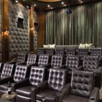 Stupefying Home Theater Decor Metal Decorating Ideas Contemporary