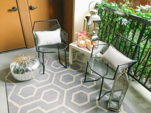 Style Home Small Space Moroccan Patio Cor