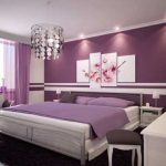 Sweet Cozy Purple Bedroom Designs Ideas Interior