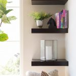 Sweetlooking Corner Shelf Living Room Home Design