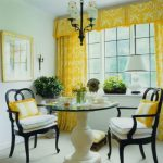 Sybaritic Spaces Yellow Dining