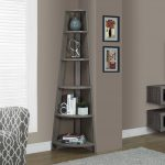 Top Corner Shelves Living