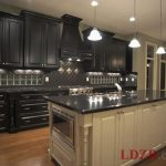 Traditional Black Kitchen Cabinets Home Design
