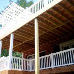 Two Story Deck Design Ideas Archadeck Louis Decks Screened Porches