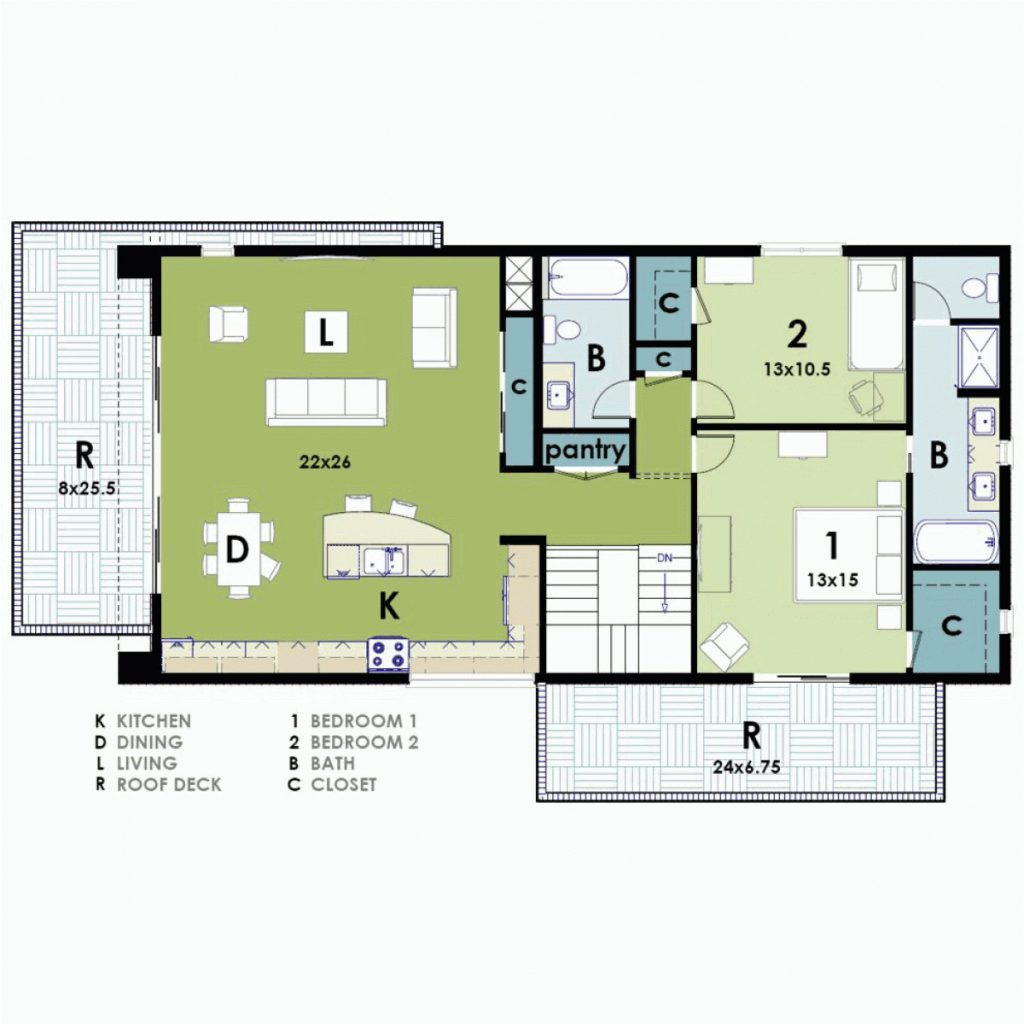 Ultra Modern House Plans South