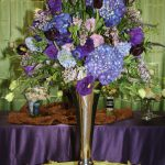 Unforgettable Floral Purple Blue Flower