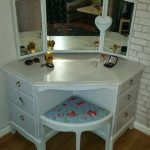 Unique Modern Corner Dressing Table Designs Small