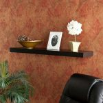 Upton Home Tampa Inch Black Floating Shelf Contemporary Display Wall