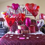 Valentine Day Bed Room Decoration