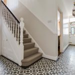 Victorian Hallway Ideas Hall Patterned Floor Tiles Decorative Boxes