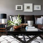 Wall Art Grey Living Room Modern