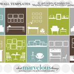 Wall Display Template