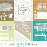 Wall Display Templates Uppercross