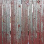 Weathered Red Painted Wood Fence Texture Photograph Photos Public