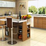 White Small Kitchen Island