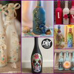 Wine Bottles Decor Ideas Diy Room Using Recycled Glass Attachment