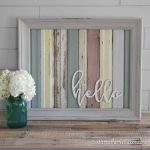 Wood Home Decor Signs Country