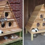 Wood Work Heated Cat House Plans