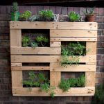Wooden Pallet Vertical Garden Ideas Recycled