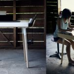 Writing Desks Small Spaces Surripui Large Home